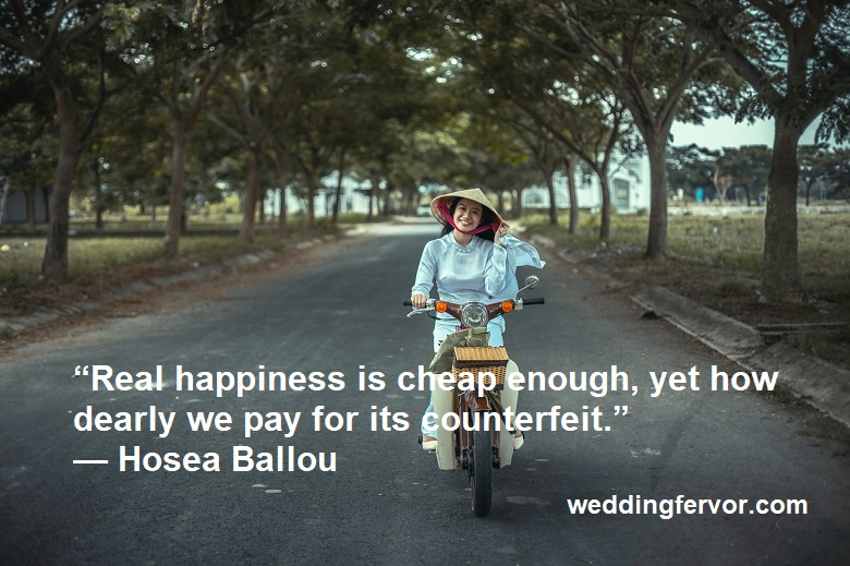 real happiness quote