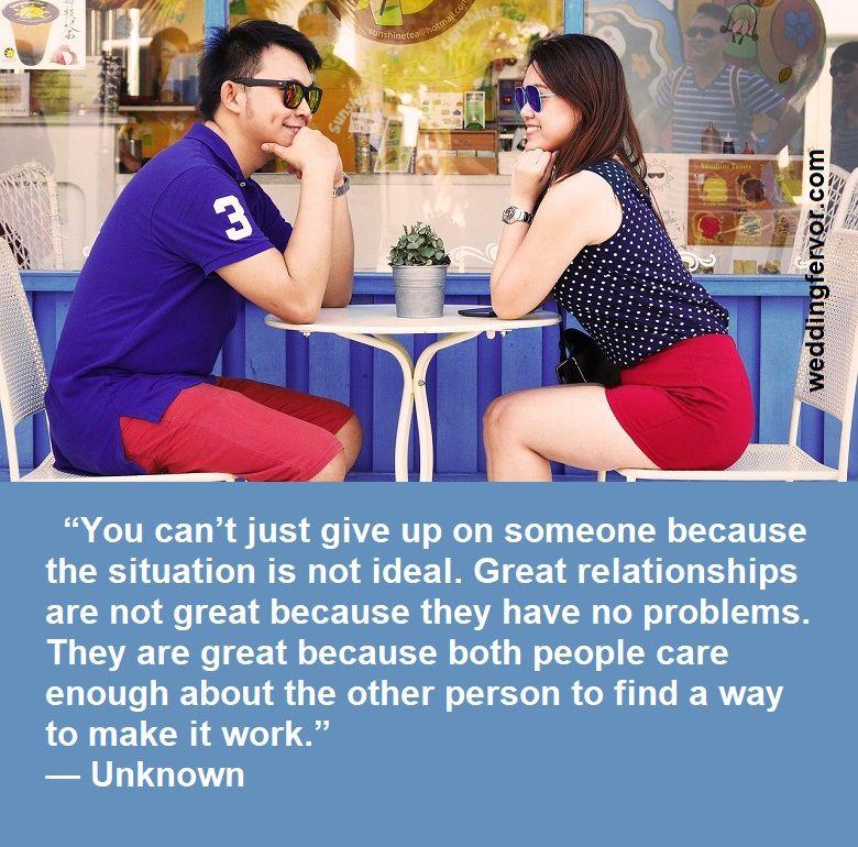 nice relationship