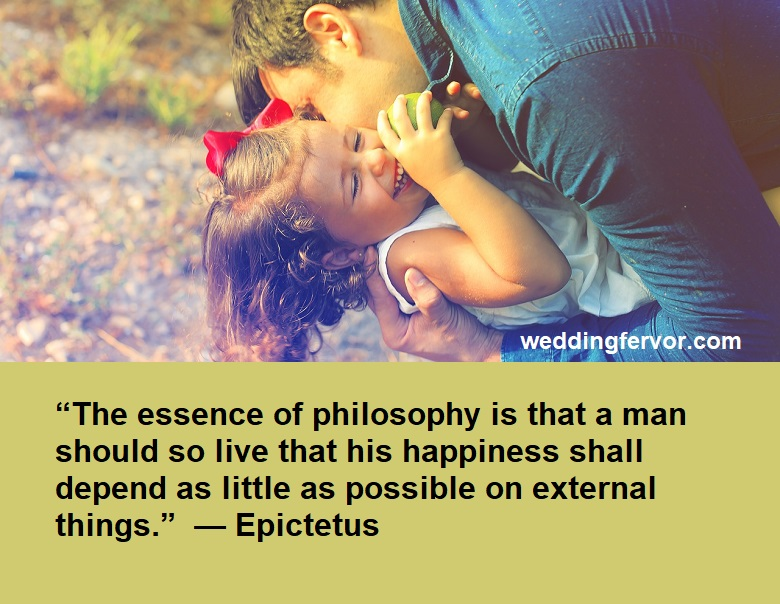 mans happiness quote