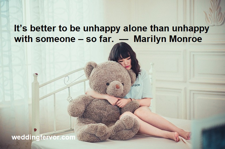 unhappy quote